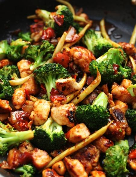 Chicken Vegetable Stir - Fry Recipe Healthy