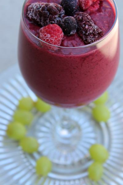 Mixed-Berry-Protein-Smoothie