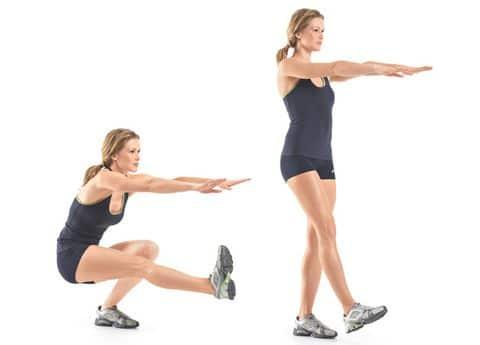 Full Leg Workout Routine - Sexy Legs Workout PISTOL SQUATS