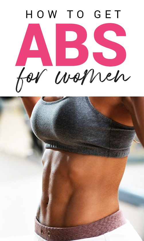 Abs For Girls - The Ultimate Guide On Getting Fit Girls Abs - Fit Girl's Diary
