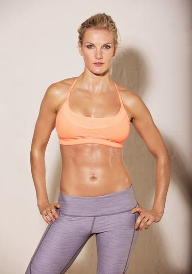 Attractive Woman with Fit Body