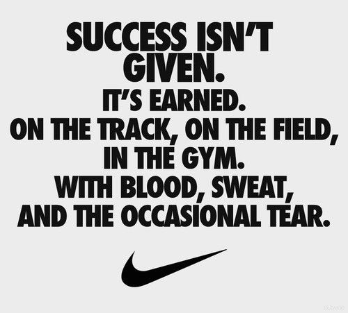 #1 Nike Motivation Posters