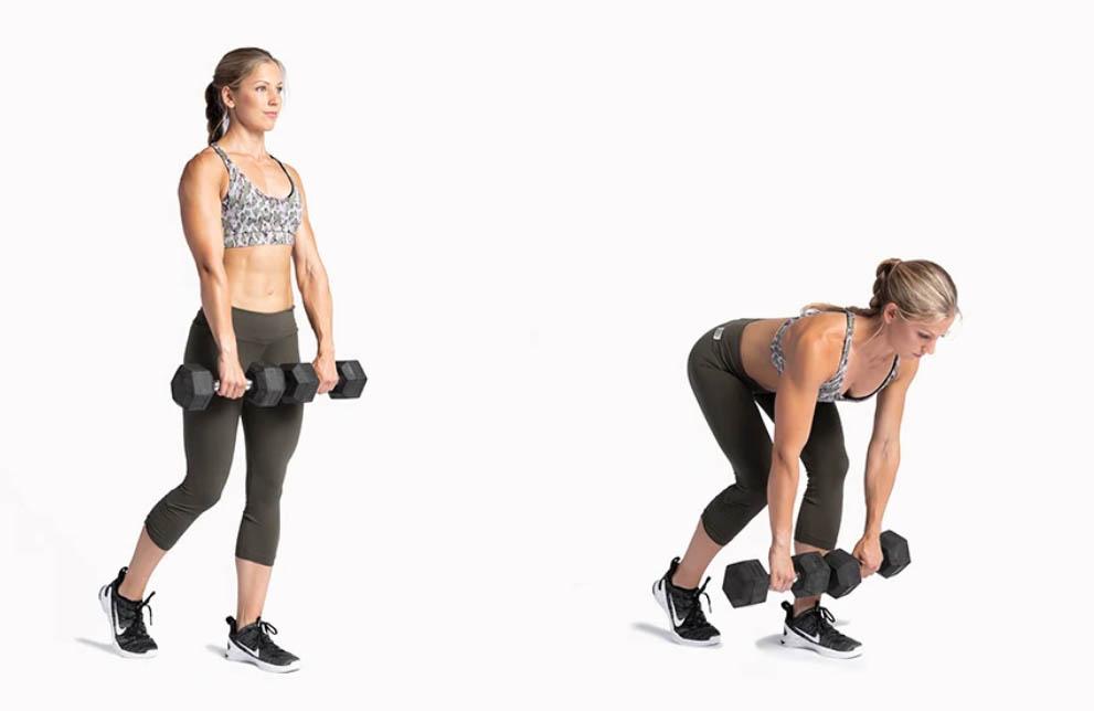 single leg deadlift workout