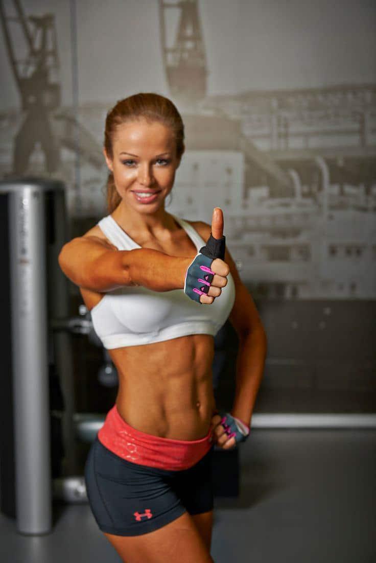 fitness model diet