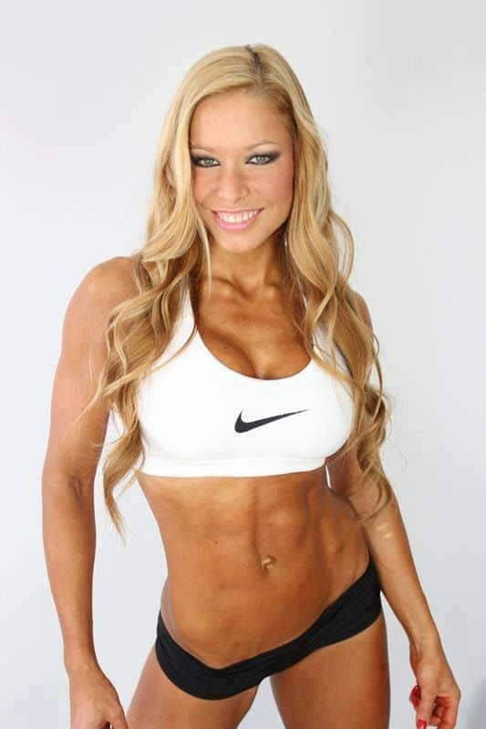 Body Of A Fitness Model