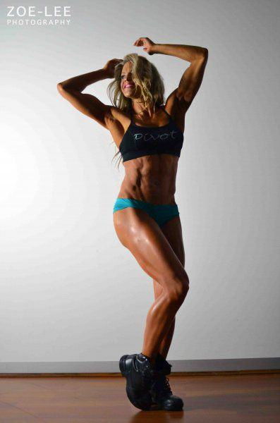 become a fitness model