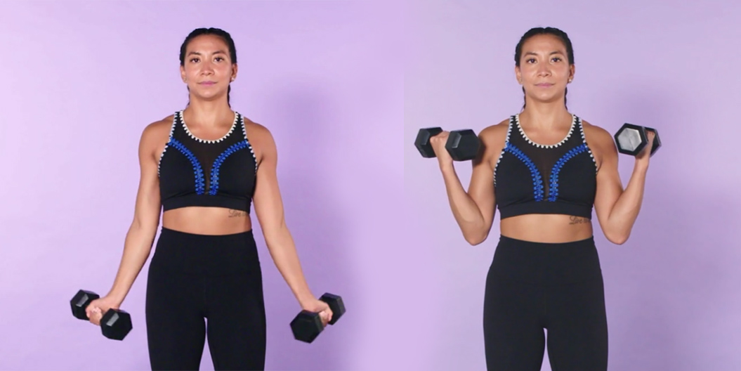 at home biceps workout