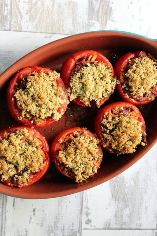 Wheat-and-dairy-free-oven-roasted-stuffed-tomato-recip
