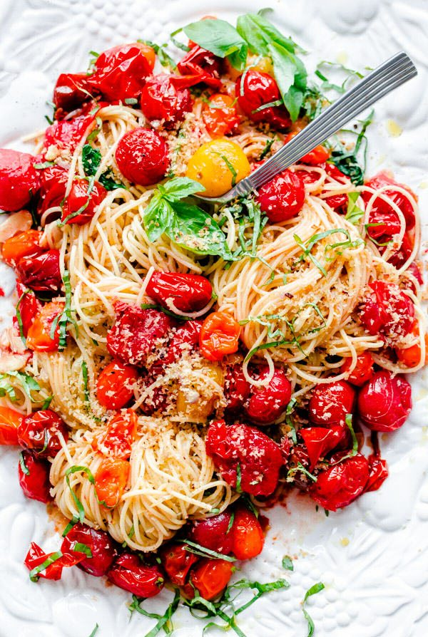 roasted tomato pasta recipes