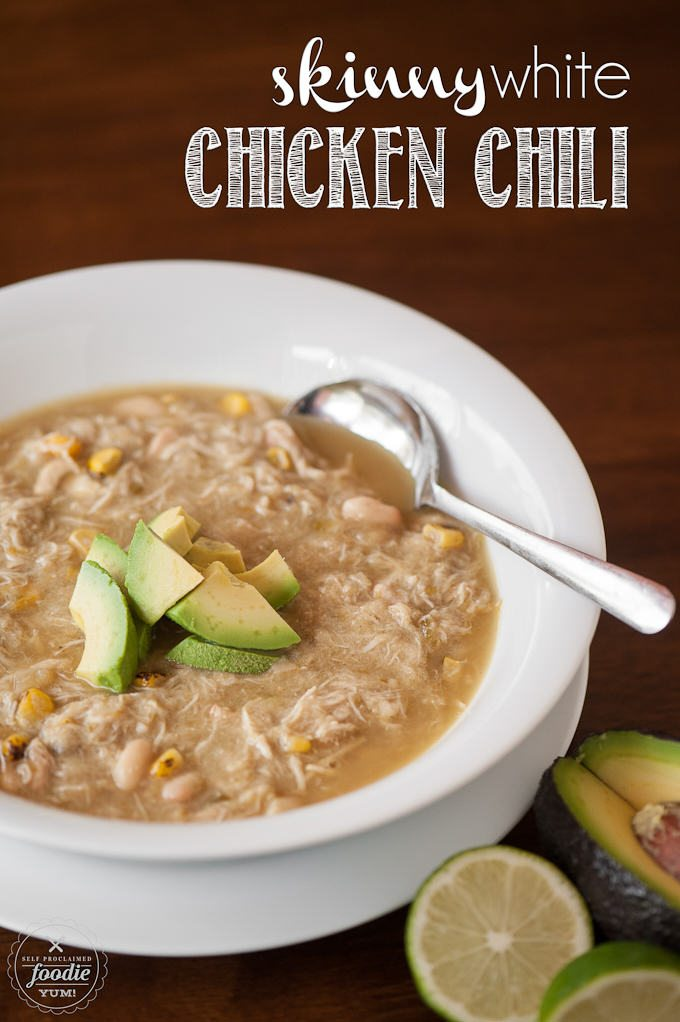easy white chicken chili recipes