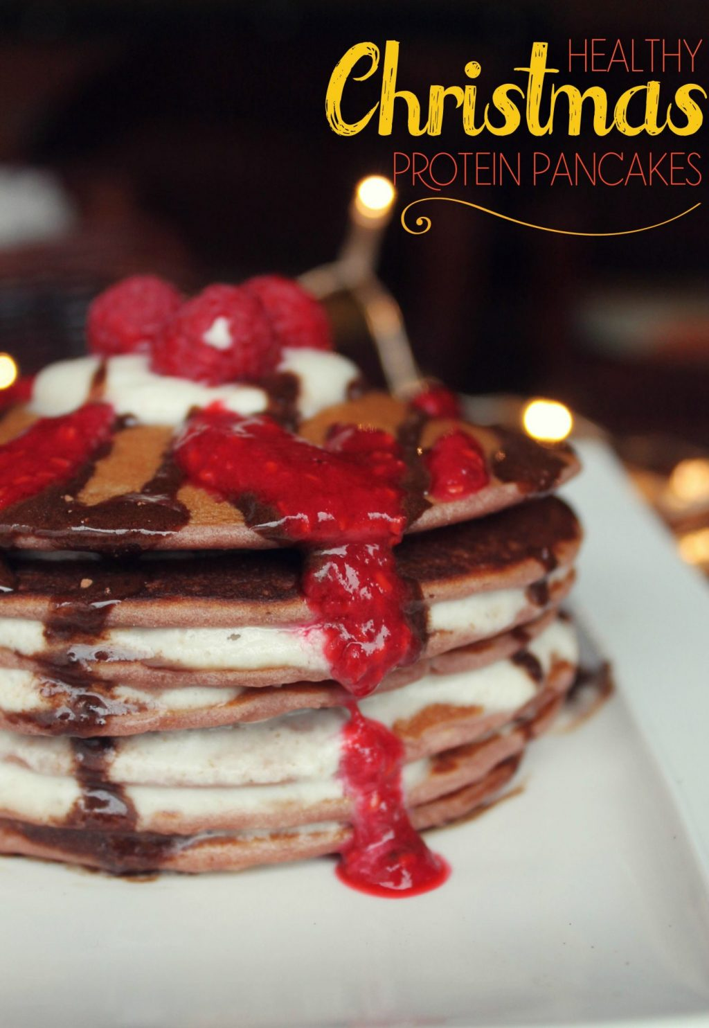 Healthy Christmas Recipes - Sugar free pancakes