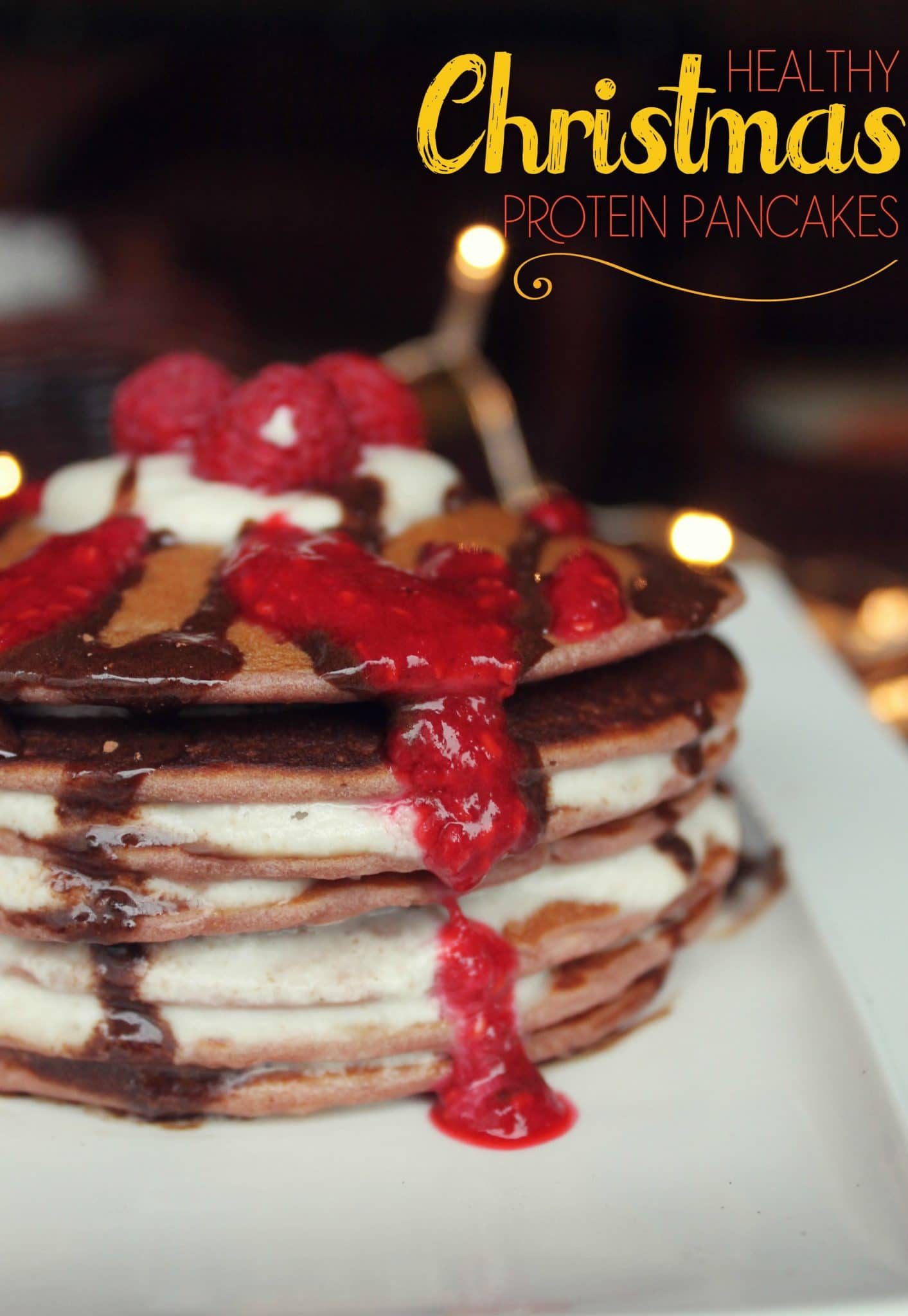 Healthy Christmas Recipes - Delicious Protein Pancakes