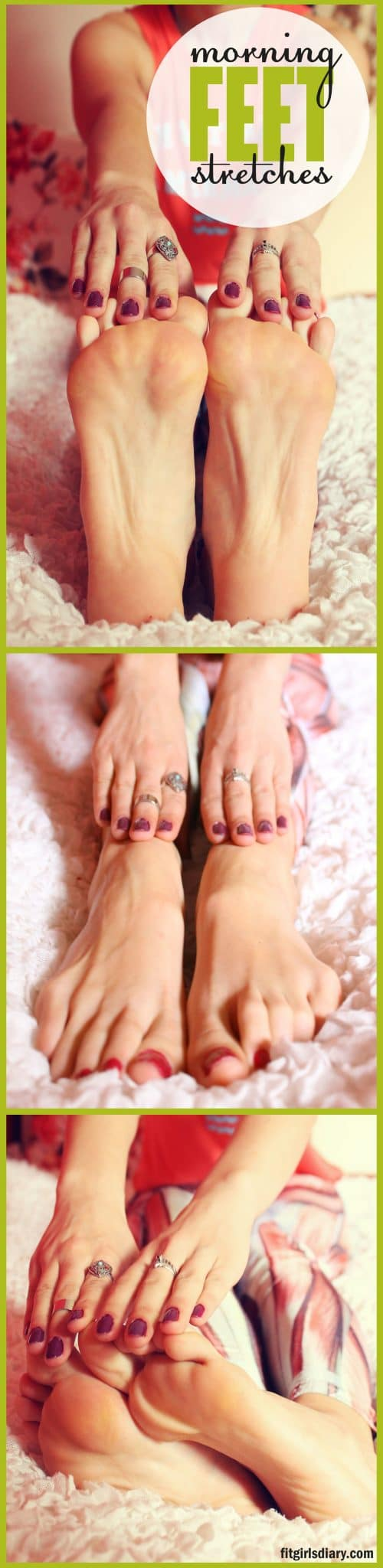 morning feet stretches - 15 Fit Girls Morning Rituals - Healthy Habits That Changed My Life