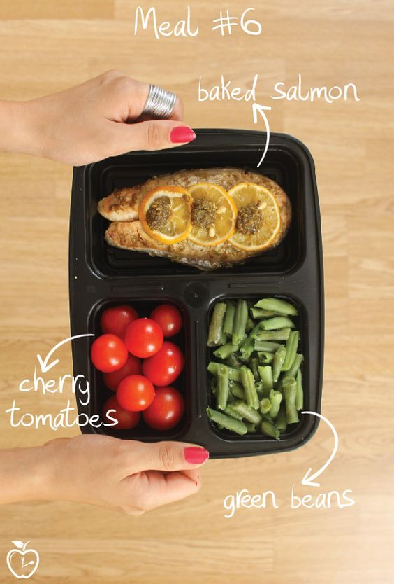 Meal prep salmon - Best Meal Containers