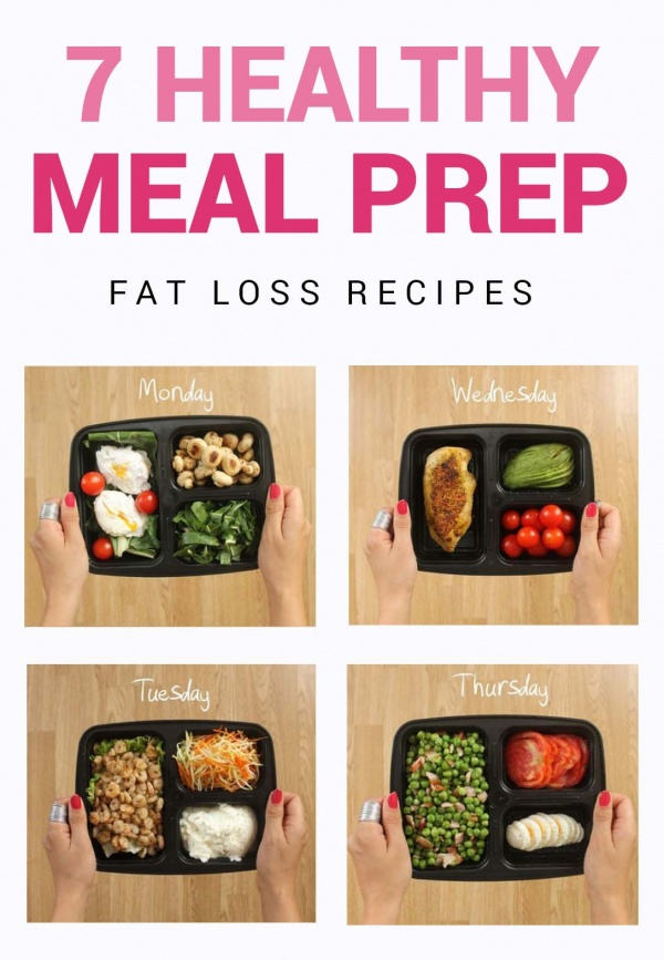 7 Days Of Healthy Meal Prep Ideas - Ready To Eat Meals and Protein On The Go With The Best Meal Containers