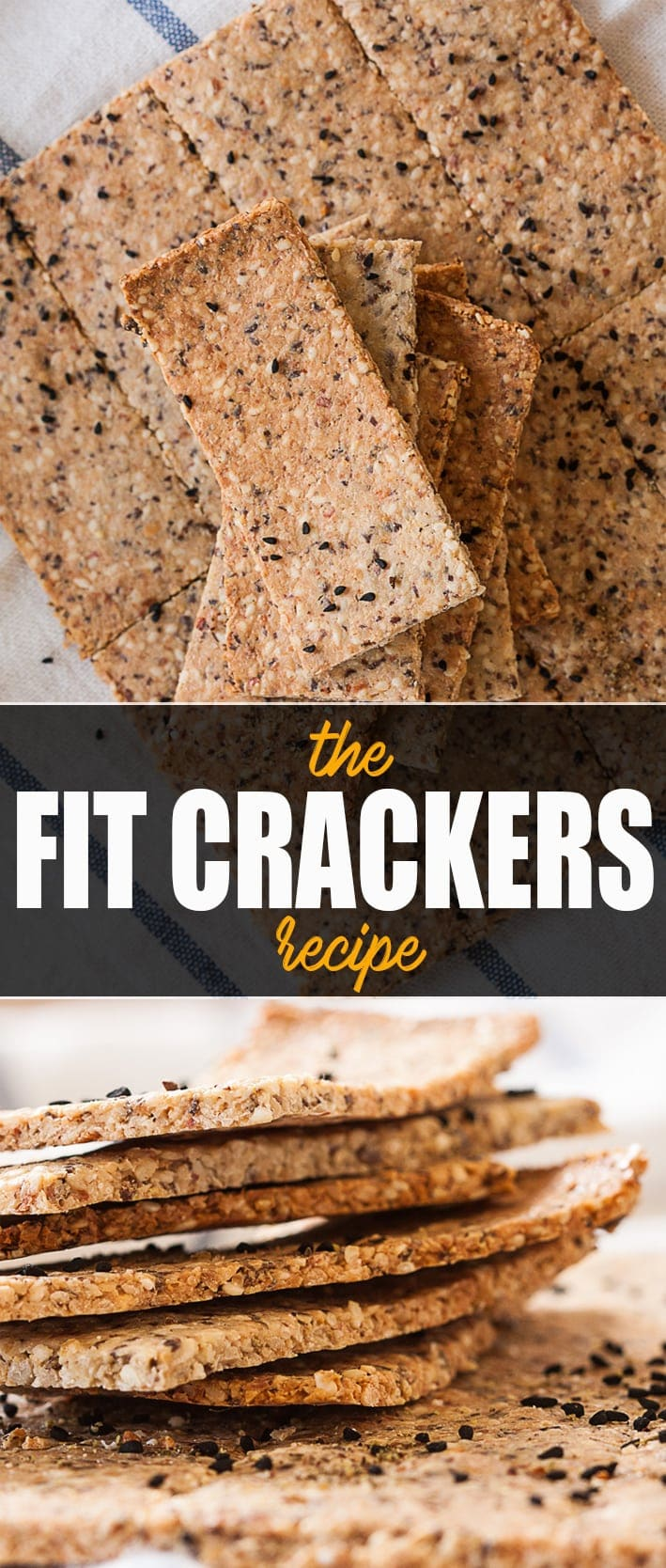 20 Easy Healthy Snack Ideas - Fit Crackers
