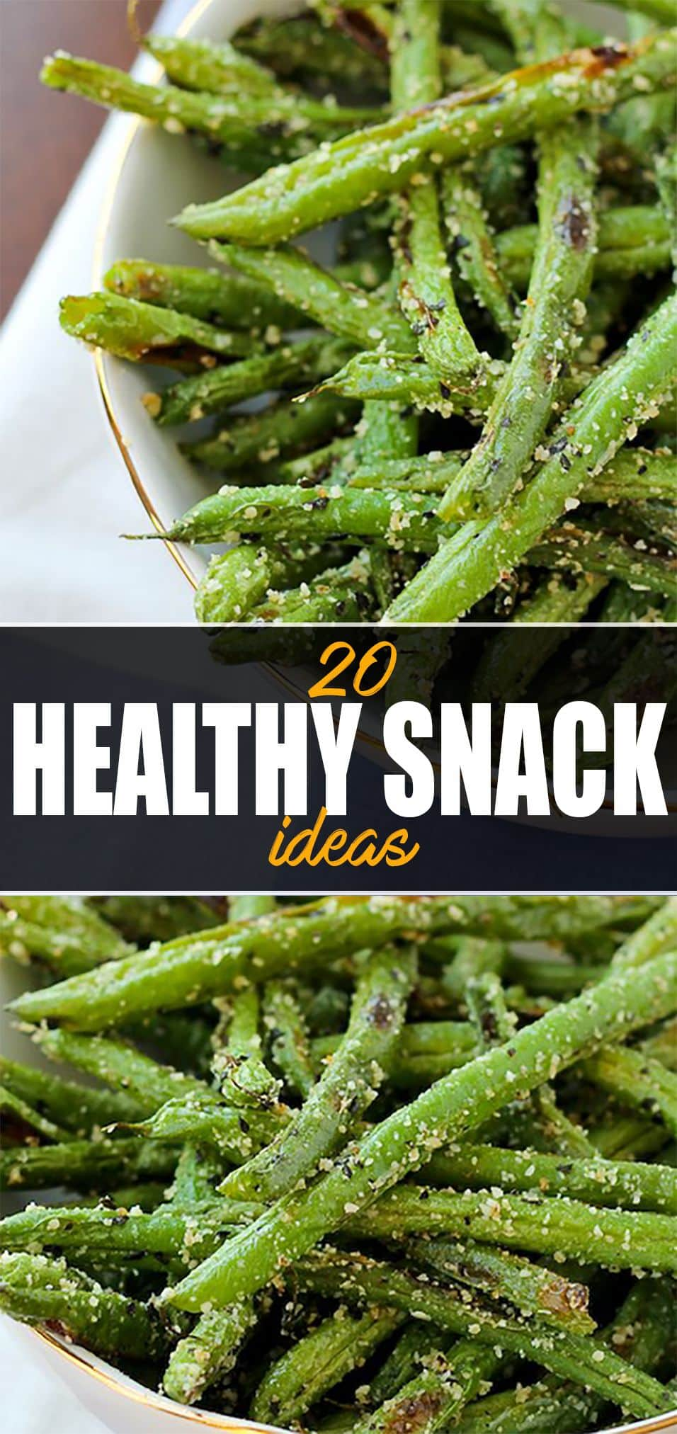 20 Easy Healthy Snack Ideas - Green Beans