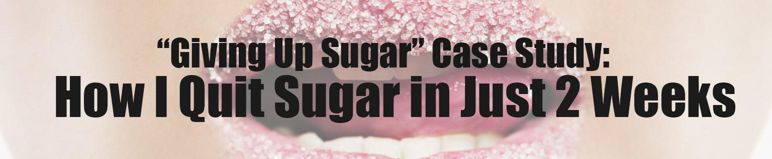 Quit sugar image