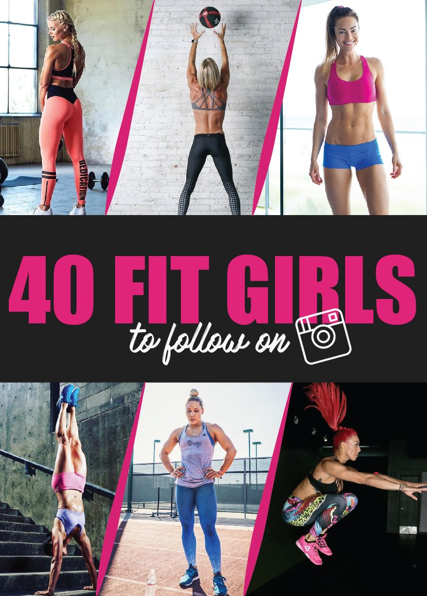 40 Fit Girls Instagram Profiles To Follow for Workouts & Daily Motivation