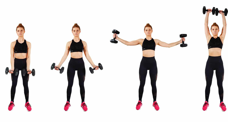 Shoulder circles - how to get rid of armpit fat