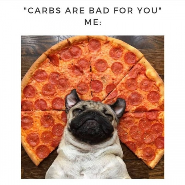 carbs are bad for you - eat good carbs