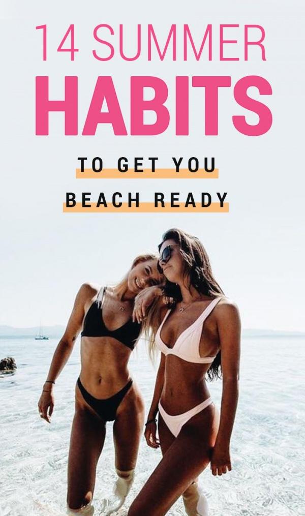 bikini ready summer habits bikini body guide