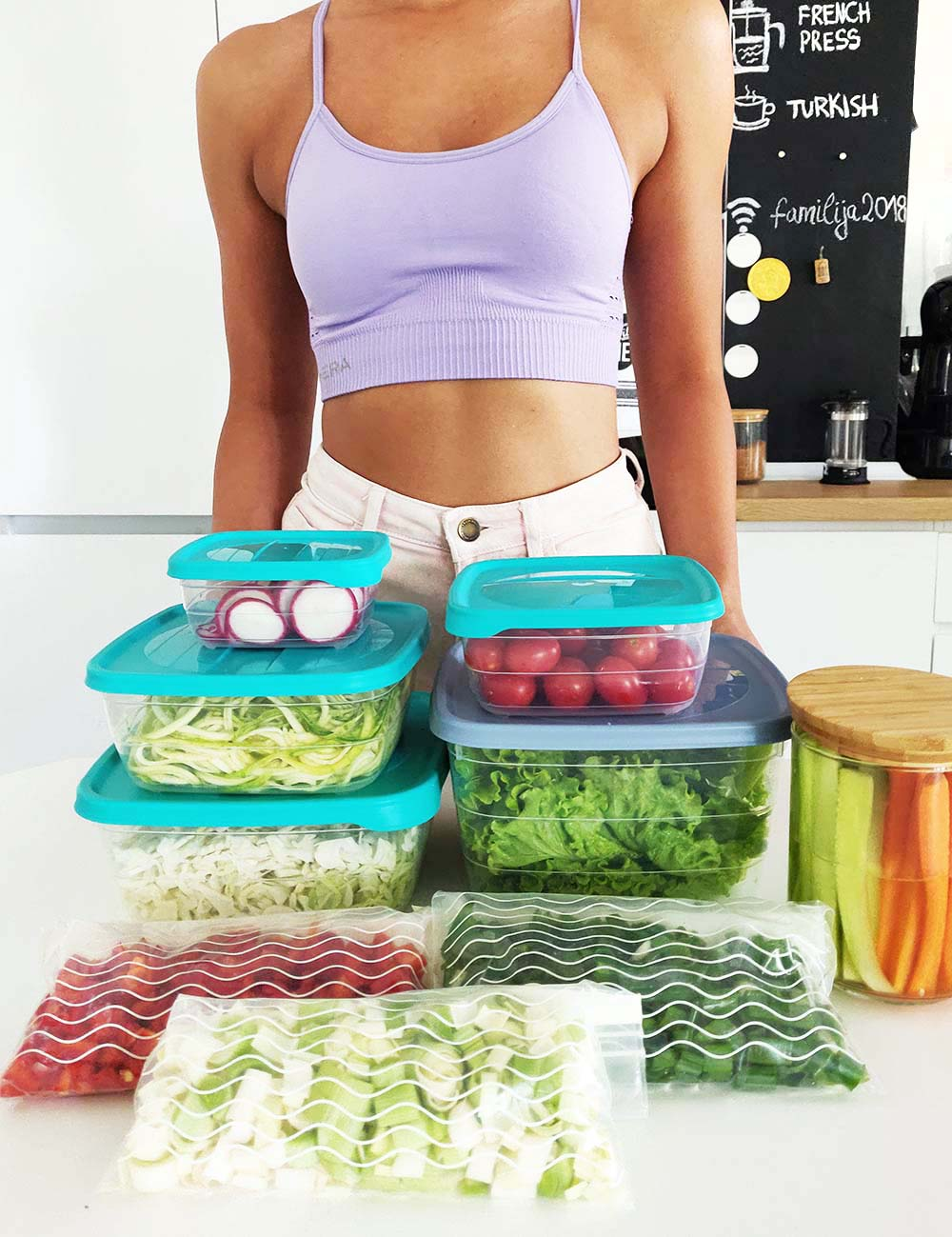 How I Meal Prep Vegetables To Make Sure I Eat Healthy - Meal Prep Veggies
