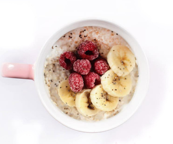 my morning routine - healthy breakfast