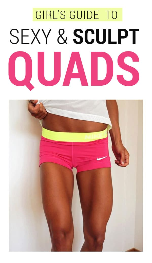 Girl's Guide To Quad Workouts - 8 Best Quad Exercises & Leg Workouts At Home