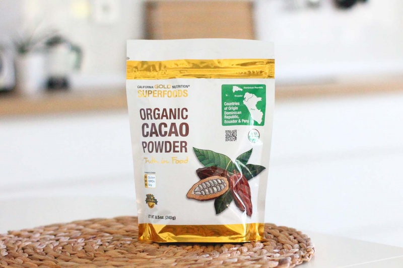 protein brownies recipe - cacao
