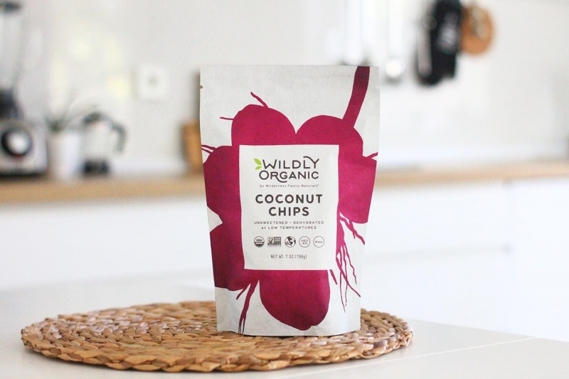 protein brownies recipe - coconut chips