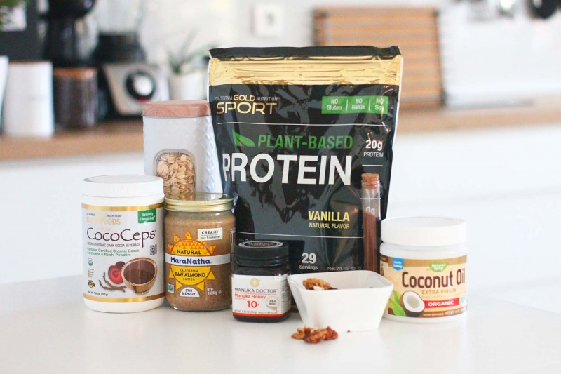 protein bar recipe - homemade protein bars ingredients