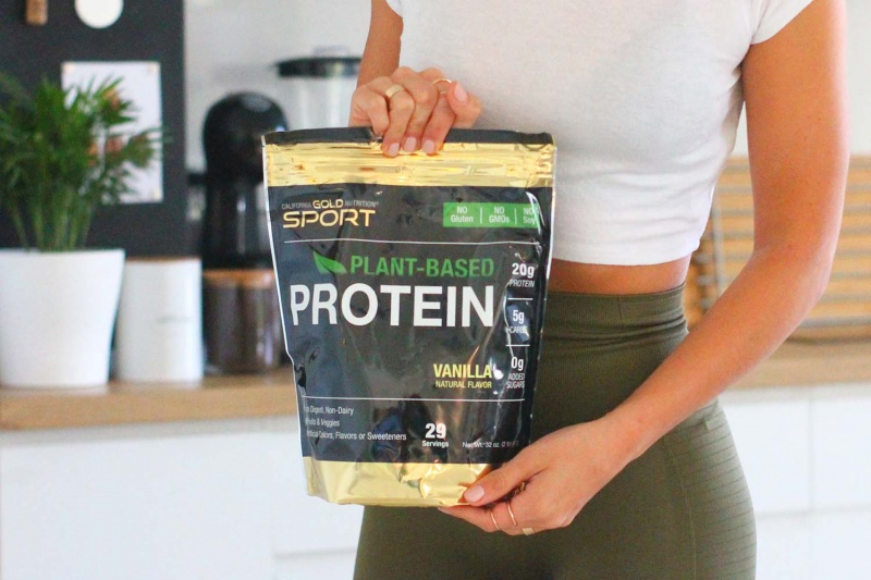 protein bar recipe - homemade protein bars - plant based protein