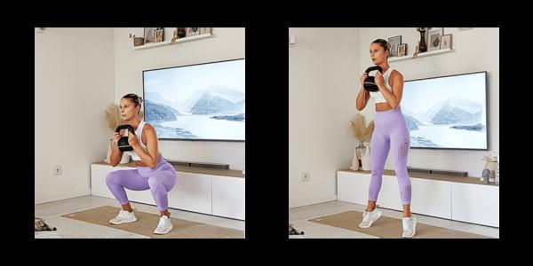 best Quad Workouts - squat
