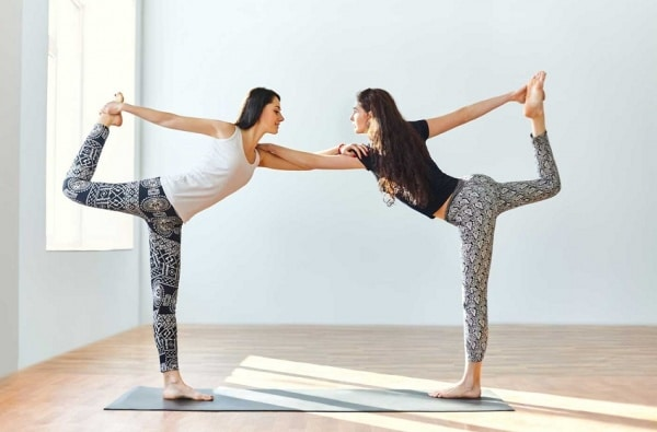 dancer pose - yoga for 2