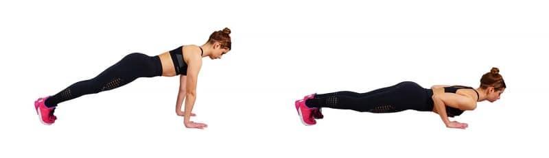 My Back Fat Workout - push ups