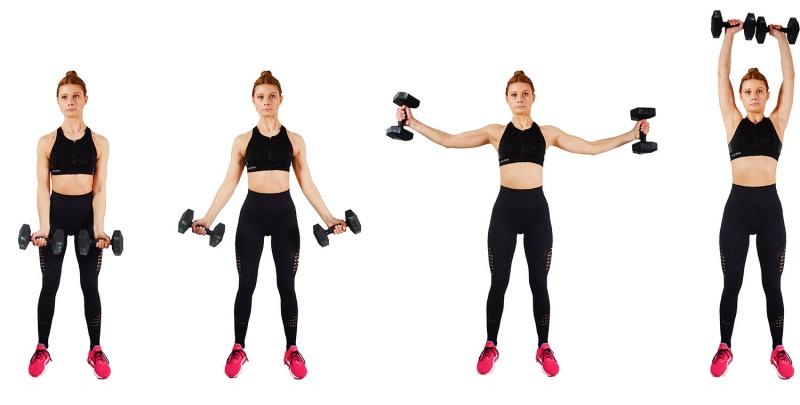 My Back Fat Workout - shoulder circles