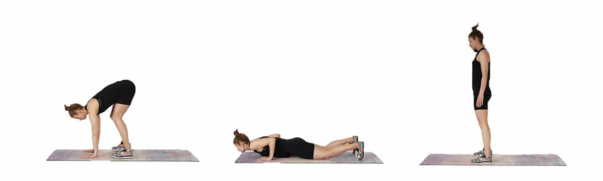 Burpee sprawl - No Equipment 30 Minute Home Workout - Fat Burning HIIT Workout At Home