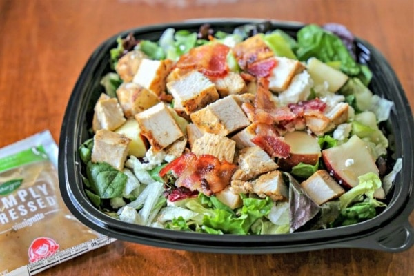 Wendy's Mediterranean Chicken Salad - healthy fast food options