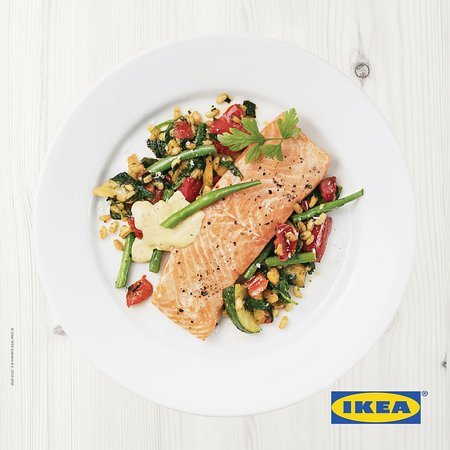 Healthy fast food option ikea