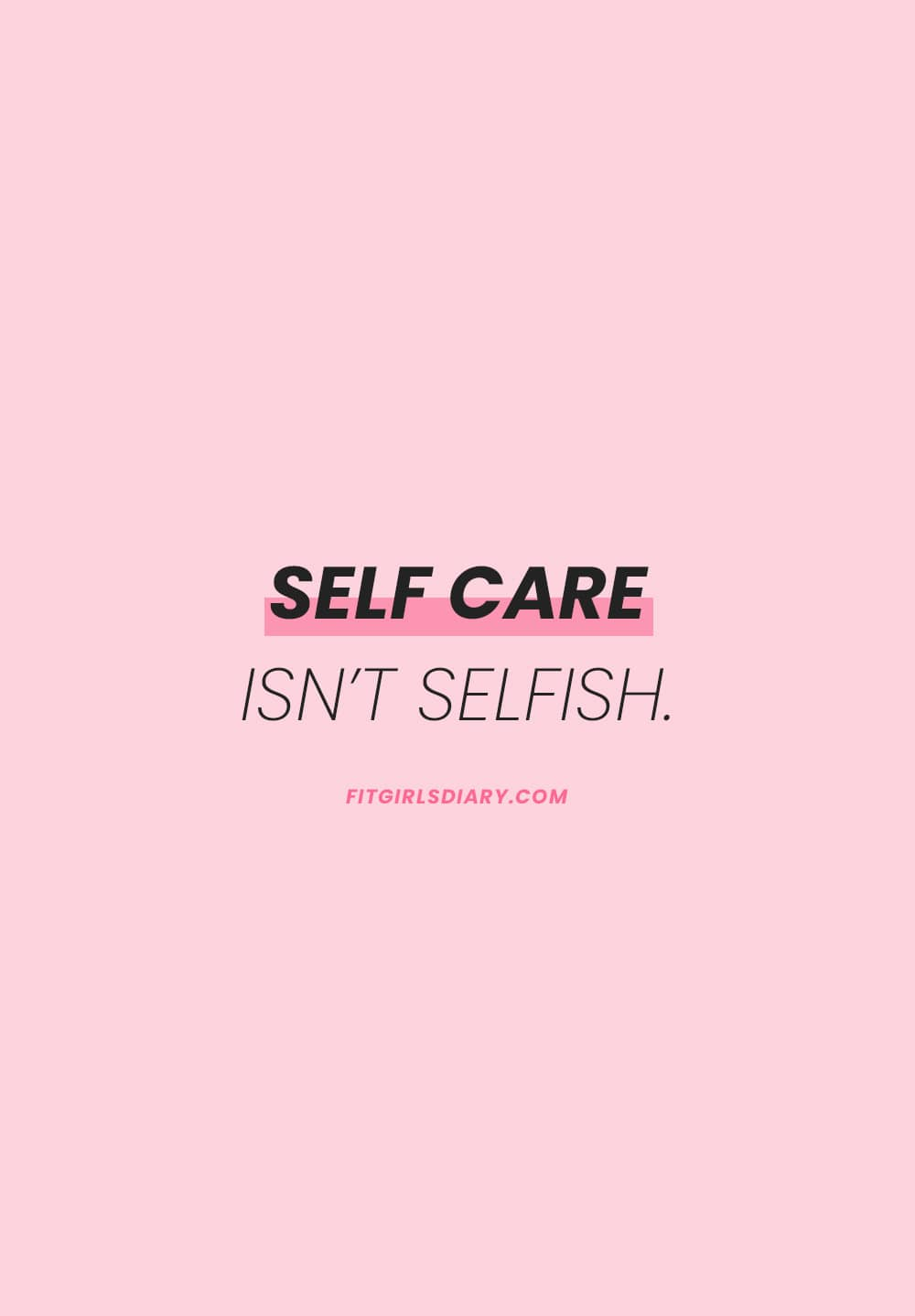self care checklist - self care activities