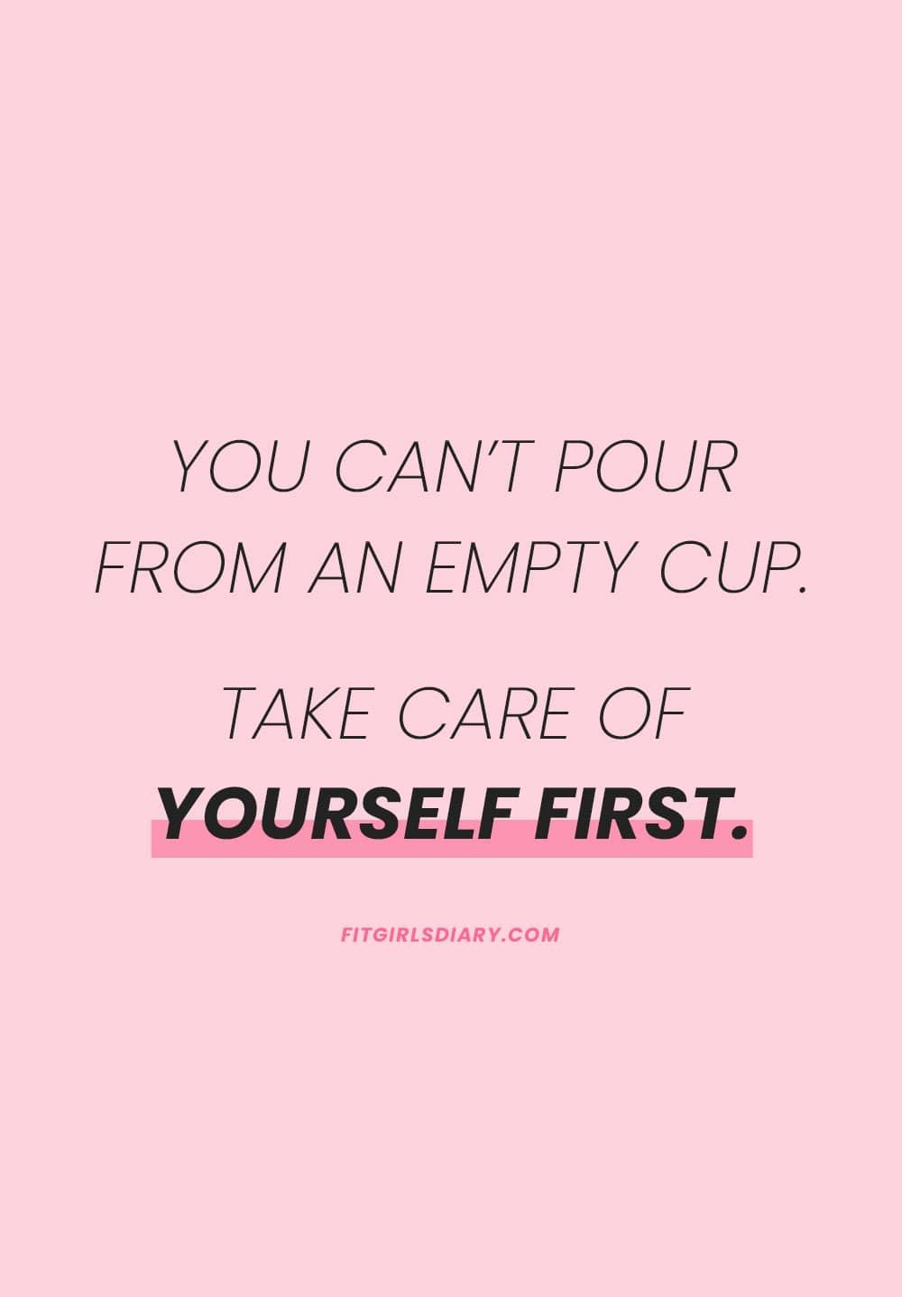 self care quotes - self care ideas