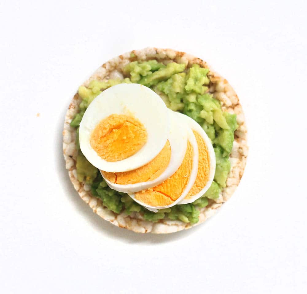 avocado egg recipes with rice cakes - are rice cakes healthy