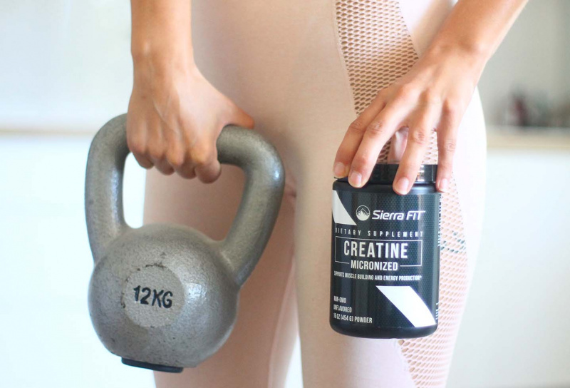 Creatine Sierra Fit | Pre & Post Workout Nutrition