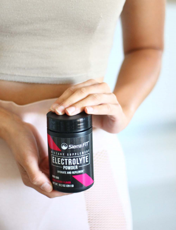 pre workout electrolyte powder