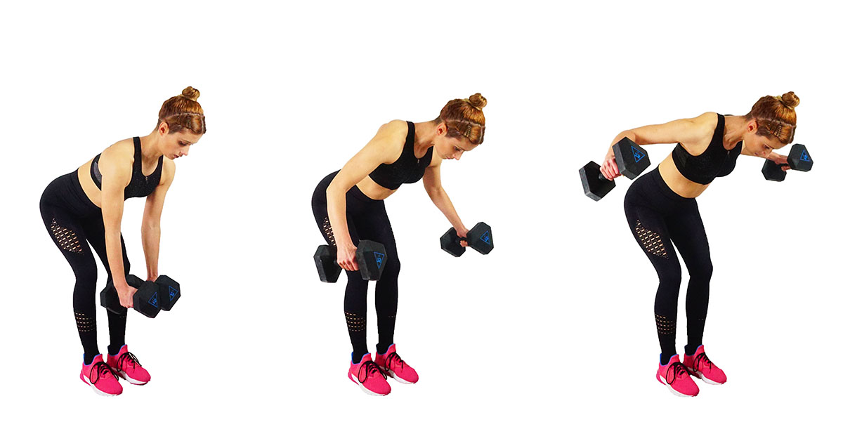 bent over flies Best Back Workout At Home With Dumbbells