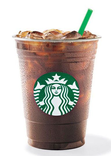 healthy starbucks drinks - americano