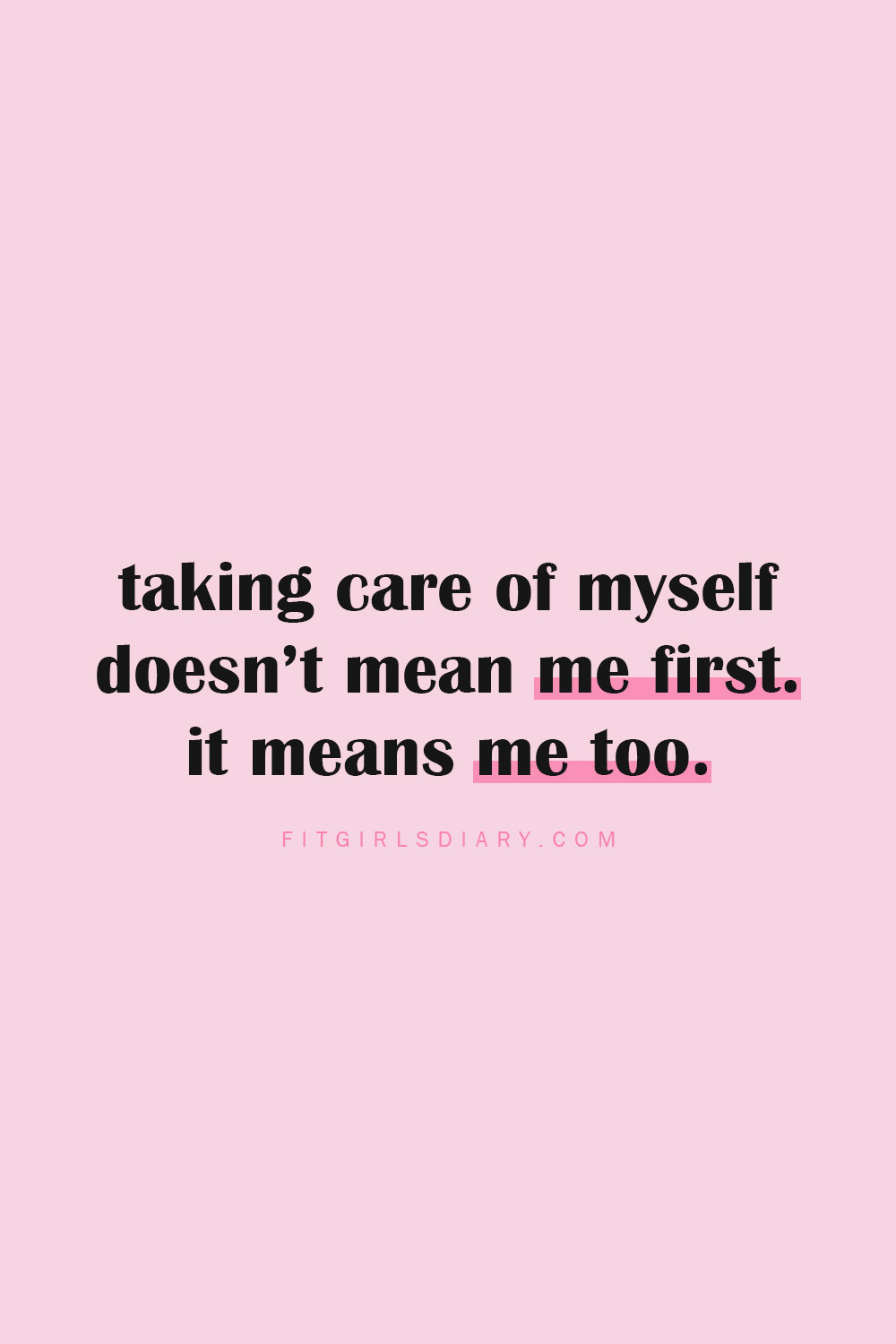self care quotes - self care plan