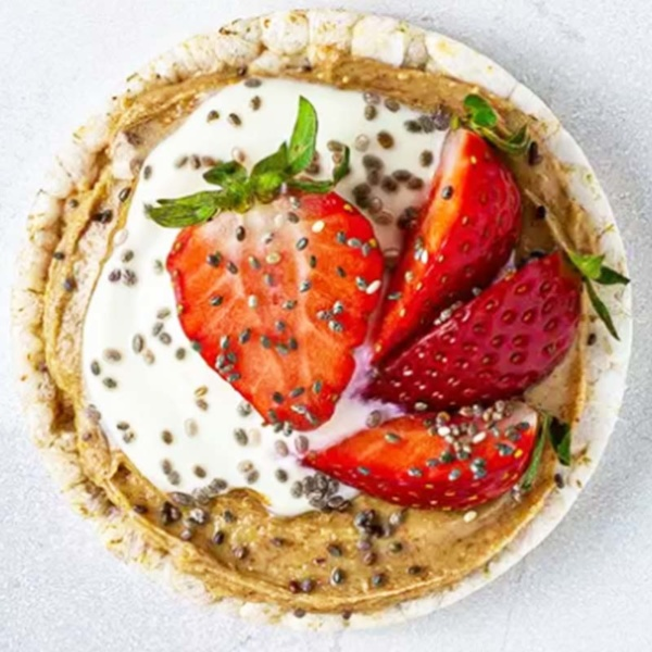 rice cakes Healthy Breakfast Recipes For Weight Loss